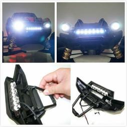 7 LED Front Bumper Light Bar Lamp Lighting for 1/5 Traxxas X