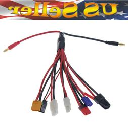 8 in 1 Lipo Battery Charger Multi Charging Plug Convert Cabl