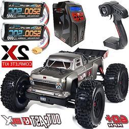 ARRMA 106021 1/8 Scale OUTCAST 6S Stunt Truck 4WD w/ 2x Lipo