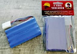 9.6V 1400mAh Ni-Cd High Capacity 3-Wire Battery Pack for MZ