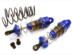 Integy 90mm Front Aluminum Big Bore Shocks Traxxas Stampede,