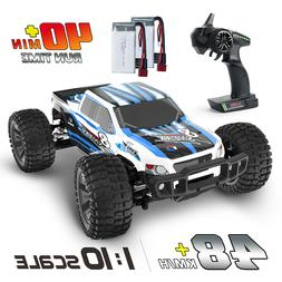 DEERC 9200E RC Cars 1:10 Scale 4WD Off Road Monster Truck wi