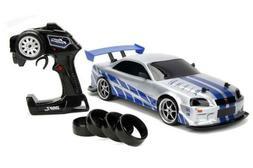 Jada 99701 Toys Fast & Furious Brian's Nissan Skyline GT-R