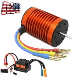 9T 4370KV Brushless Motor with 60A ESC Speed Controller Comb