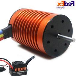 9T 4370KV Brushless Motor 60A ESC Speed Controller Combo ME7