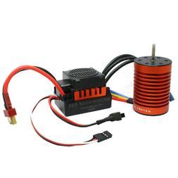 9T 4370KV Brushless Motor + 60A ESC Speed Controller Combo M