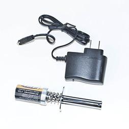 ALEKO 80101 Nitro RC Starter, Glo Starter With 3000 mAh Batt