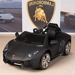 BIG TOYS DIRECT Lamborghini Aventador 12V Kids Ride On Batte