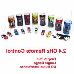 Bhbuy Multi color Coke Can Mini Speed RC Radio Remote Contro
