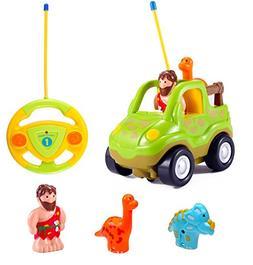 Cartoon R C Dinosaur Safari Car Radio Control Toy with Music 90050448a