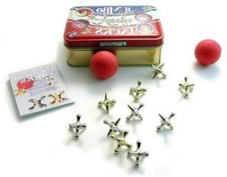 Channel Craft, Jumbo Jacks in a Classic Toy Tin, Jacks Game,
