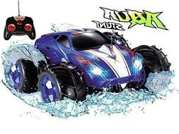 Click n' Play Land & Water Amphibious RC Remote Control Car,