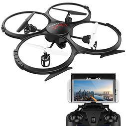 DBPOWER WiFi FPV Version U818A Drone with 720P HD Camera Hea