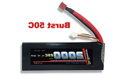 Genuine DLG Rc Bateria 11.1V 3S 25C 2200mAh Burst 50C Li-Po Lipo Plug Dean/'s T