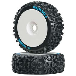 Duratrax Lockup 1:8 Scale RC Buggy Tires with Foam Inserts,