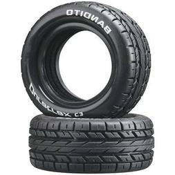 Duratrax Bandito 1:10 Scale RC 4WD Buggy Front Tires with Fo