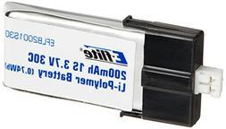 E-flite 200mAh 1S 3.7V 30C LiPo Battery