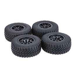 GoolRC 4Pcs/Set 1/10 Short Course Truck Tire Tyres for Traxx