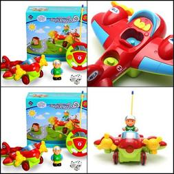 Holy Stone RC Cartoon Airplane Remote Control Plane for Baby 4c5760c1a