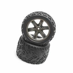 Hosim RC Car Wheel Rubber Tires Tyres 16-ZJ01 for 1:12 Scale