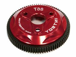 Integy RC Hobby T8030RED 86T Metal Spur Gear for Traxxas 1/1