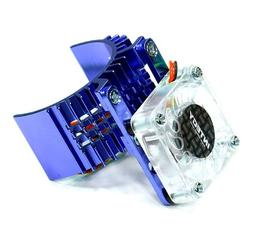 Integy RC Model Hop-ups T8074BLUE Motor Heatsink 540 Size w/