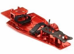 Integy Performance Billet Aluminum Chassis Kit Traxxas Rustler Bandit VXL Green