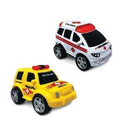 Junior Racers Push n Go Ambulance and Life Guard