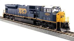 "Kato USA Model Train Products #4599 HO EMD SD80MAC CSX ""Dark"