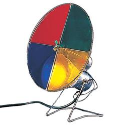 Kurt Adler Early years Revolving Color Wheel Red/Blue/Green/