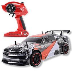 LARGE Super Fast Racing Series Car 1/10 Scale, 2.4G 4CH Radi