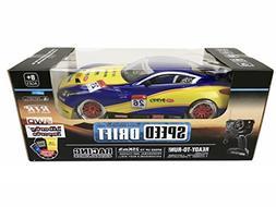Liberty Imports Super Fast Drift Champion R/C Sports Car Rem
