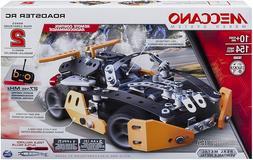 Meccano Erector Roadster RC Model Building Set, 154 Pieces,