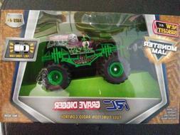 New Bright F/F 4x4 Monster Jam Mini Grave Digger RC Car