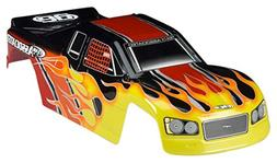 Team Associated 25502 MGT 3.0 Body Flame Vehicle Part, Yello