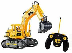 Top Race 7 Channel Full Functional RC Excavator, Battery Pow