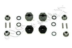 Traxxas 12mm Hex Wheel Hubs - Stub Axle Pins - 4mm Flanged N