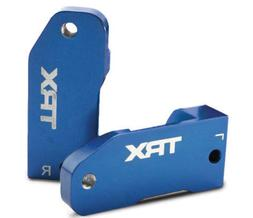 Traxxas 3632A Blue-Anodized 6061-T6 Aluminum Caster Blocks