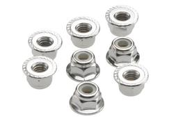 Traxxas 3647 Flanged Nylon Lock Nuts, 4mm