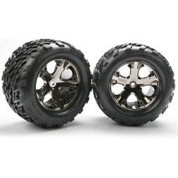 "Traxxas 3668A Talon 2.8"" Tires Pre-Glued on All-Star Black-C"