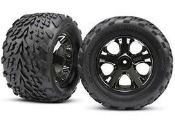 "Traxxas 3669A 2.8"" Talon Tires Pre-glued on Chrome All Star"