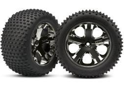 "Traxxas 3770A 2.8"" Alias Tires Pre-Glued on All-Star Black-C"