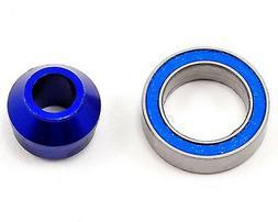 Traxxas 6893X Blue-Anodized Aluminum Bearing Adapter