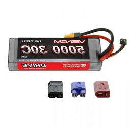 Venom Sport Power 30C 2S 5000mAh 7.4V LiPo Battery ROAR Appr