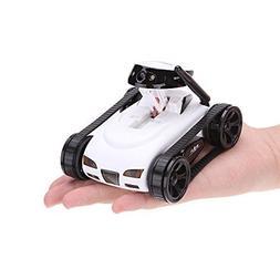 MakeTheOne Wireless Mini RC Tank with 0.3MP HD Camera 777-27