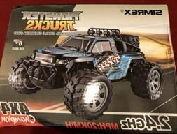 SIMREX A231 RC Car with Remote Control & Brushed Monster