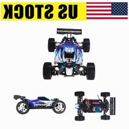 Wltoys A959 1/18 1:18 Scale 2.4G 4WD RTR Off-Road Buggy RC C