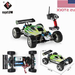 US WLtoys A959-B 2.4G 1/18 4WD 70KM/H Electric Off-Road Bugg