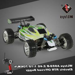 WLtoys A959-B 2.4G 1/18 Scale 4WD 70KM/H High Speed Electric