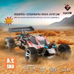 Wltoys A959 Upgraded Version 1/18 2.4G 4WD RTR Off-Road Bugg